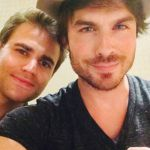 Vampire Diaries, Ian Somerhalder e Paul Wesley: una t-shirt insieme per beneficienza