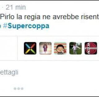 Supercoppa Juve-Lazio, sui social tutti contro la regia cinese