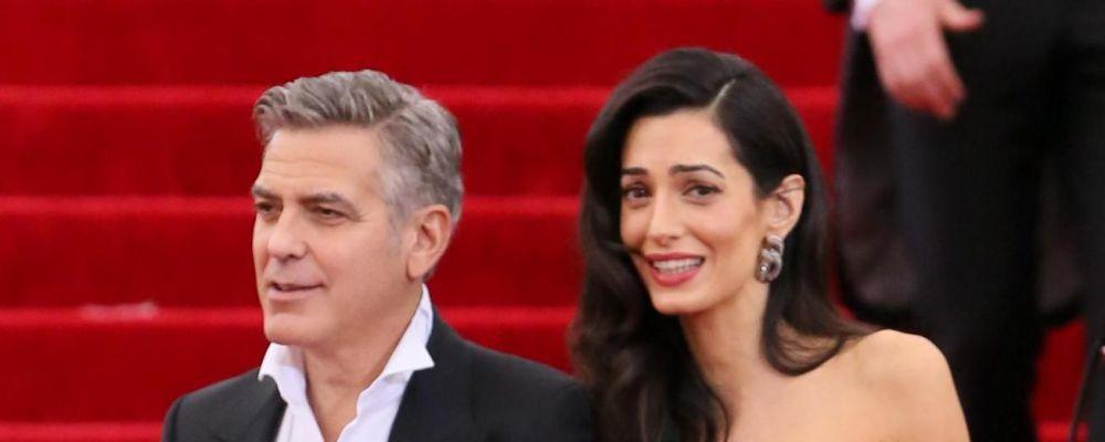 George Clooney e Amal Alamuddin aspettano due gemelli