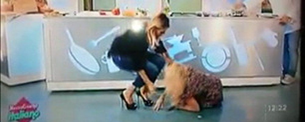 Incidente per Lisa Fusco, la spaccata in diretta le procura una frattura