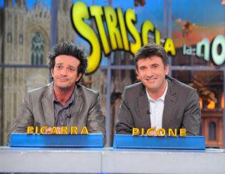 Striscia la notizia 2015-2016, tutte le coppie: da Hunziker e De Filippi a Christian De Sica