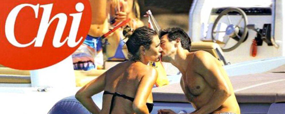 Alena Seredova, bacio con Alessandro Nasi immortalato da Chi