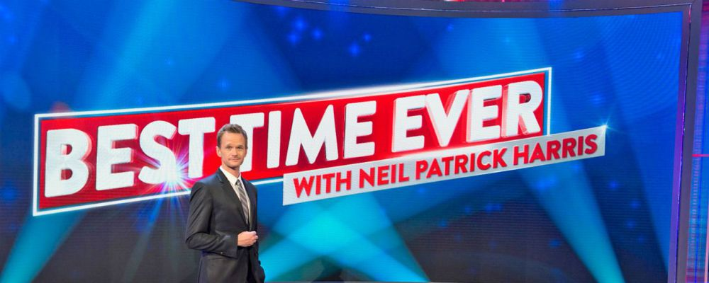 Best Time Ever with Neil Patrick Harris: lo show del fu Barney Stinson