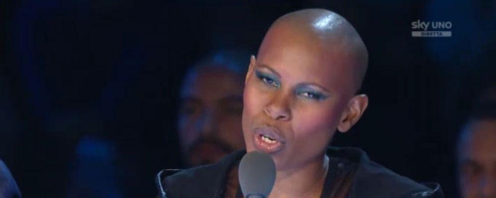 X Factor 9, Skin: 'Fedez mi è sembrato un pupazzo nelle mani di Mika'