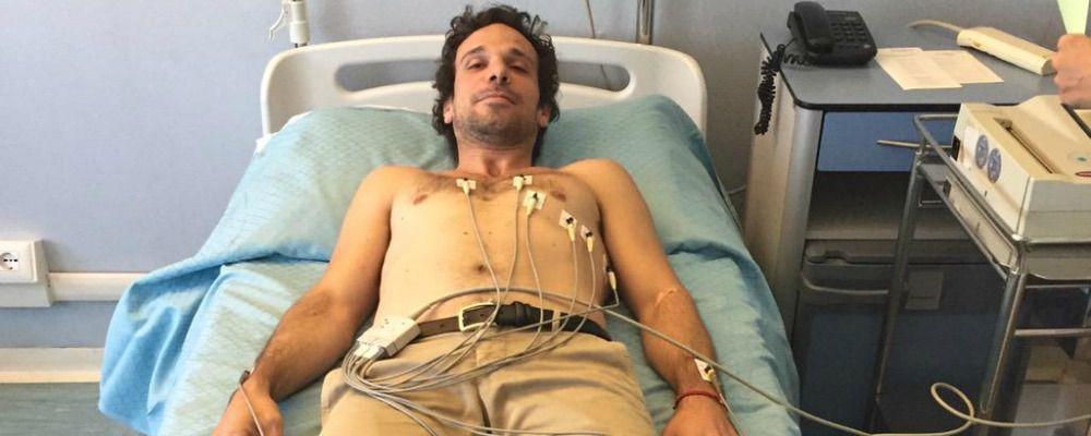 Il Libanese in ospedale, operazione al menisco per Francesco Montanari di Romanzo Criminale