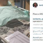 Lamberto Sposini: 'Forza Juve', prima di affrontare la sala operatoria