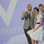 Verissimo con Adua Del Vesco e il ballerino infortunato di Amici Andreas Muller