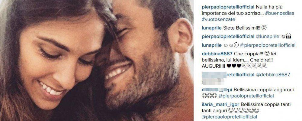 Ariadna Romero e Pierpaolo Pretelli il velino moro di Striscia la notizia sono una coppia