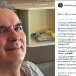 Lamberto Sposini, nuova foto dall'ospedale