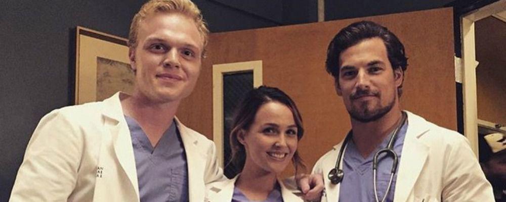 Grey's Anatomy, Giacomo Gianniotti nei panni del dottor Andrew De Luca si presenta