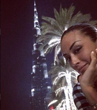 Vittorio Brumotti e Giorgia Palmas, vacanza romantica a Dubai