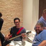 Lost la reunion: Jin, Sawyer, Hurley e Desmond, tutti insieme attorno ad un tacchino