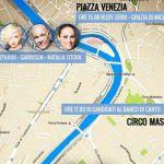 Amici 15, il cast per le vie di Roma incontra i fan