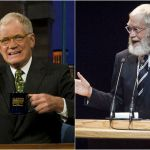 David Letterman, come era e come è da pensionato