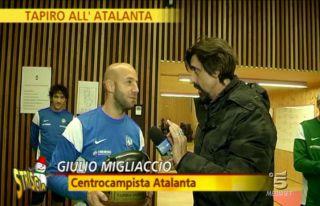 Striscia la notizia, tapiri all'Atalanta: squadra più cattiva d'Europa