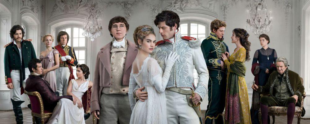 War and Peace: il classico di Tolstòj diventa un'elegante serie BBC
