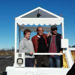 Top Gear e il test sulla papamobile: le immagini