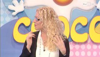 Antonella Clerici, nuovo look con gli occhiali alla Prova del cuoco