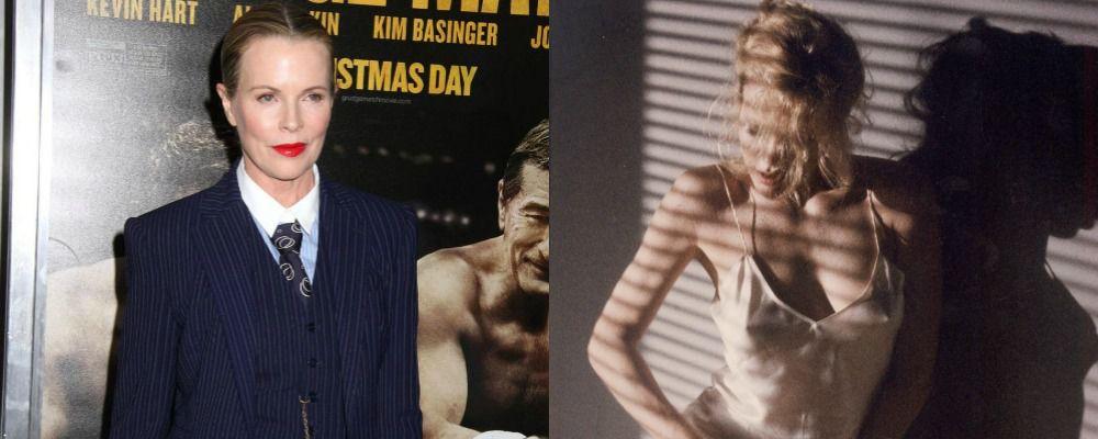 Kim Basinger, dopo Nove settimane e mezzo super sexy in Cinquanta sfumature di nero