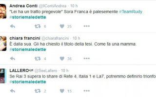 Storie Maledette di Franca Leosini scatena il web con il caso Meredith e l'intervista a Rudy Guede