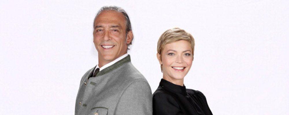 Vittoria Belvedere e Luca Ward con 'Tutti insieme appassionatamente'