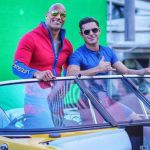 Baywatch, prime immagini dal set con The Rock e Zac Efron