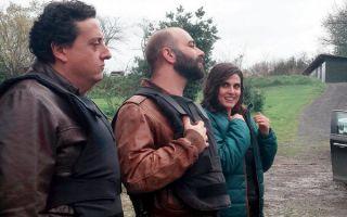 Squadra Antimafia 8, le foto dal set con Giulio Berruti e Francesca Valtorta