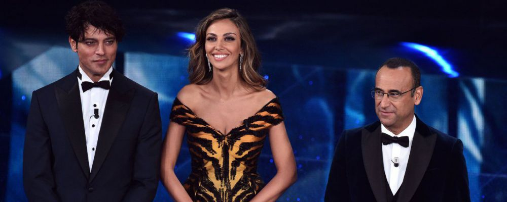 Sanremo 2016, gli ascolti della prima serata sfiorano il 50% di share