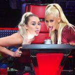 The Voice Usa 2016, Miley Cyrus sostituisce Christina Aguilera