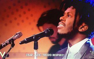 Verissimo, i Dear Jack cantano 'Mezzo respiro'