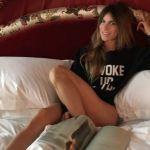 Eleonora Pedron con Daniele Conte 'Sto bene e sono felice'