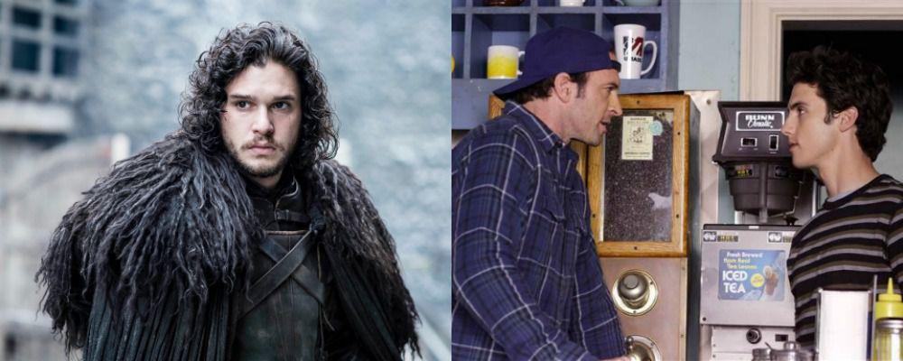 Il destino di Jon Snow e la reunion di Luke e Jess sul set di Una mamma per amica