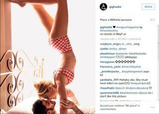 Zayn Malik e Gigi Hadid fotografati a Napoli per Vogue