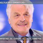 Michele Placido si racconta a Domenica Live, dal set agli amori
