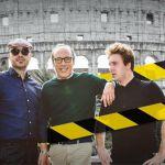 Top Gear Italia, Joe Bastianch, Guido Meda e Davide Valsecchi al Demolition Derby