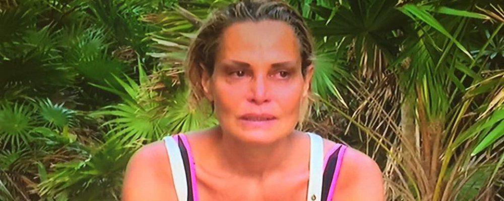Isola dei Famosi 2016, Simona Ventura in lacrime a Playa Soledad