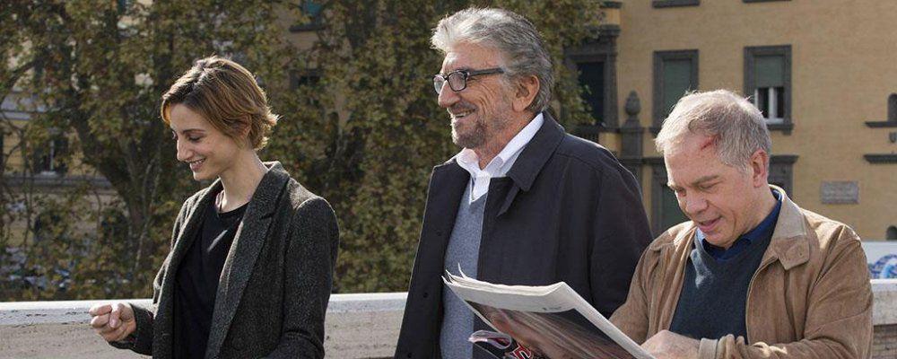 Ascolti tv, 6 milioni all'esordio per Una pallottola nel cuore 2 con Gigi Proietti