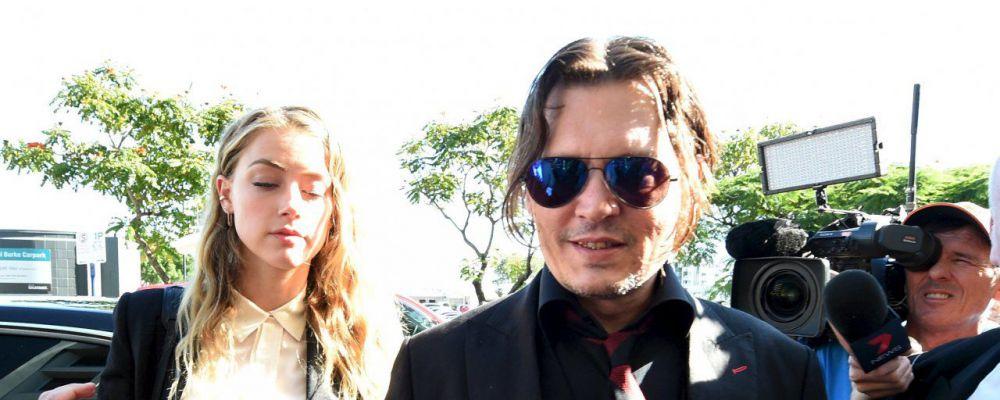 Johnny Depp e Amber Heard, accordo raggiunto: 7 milioni di dollari per l'ex moglie