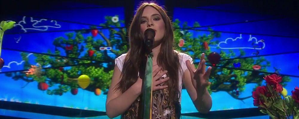 Eurovision Song Contest 2016, Francesca Michielin canta con il nastro arcobaleno (IL VIDEO)
