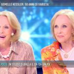 """Domenica Live, le gemelle Kessler raccontano la """"loro"""" Italia"""