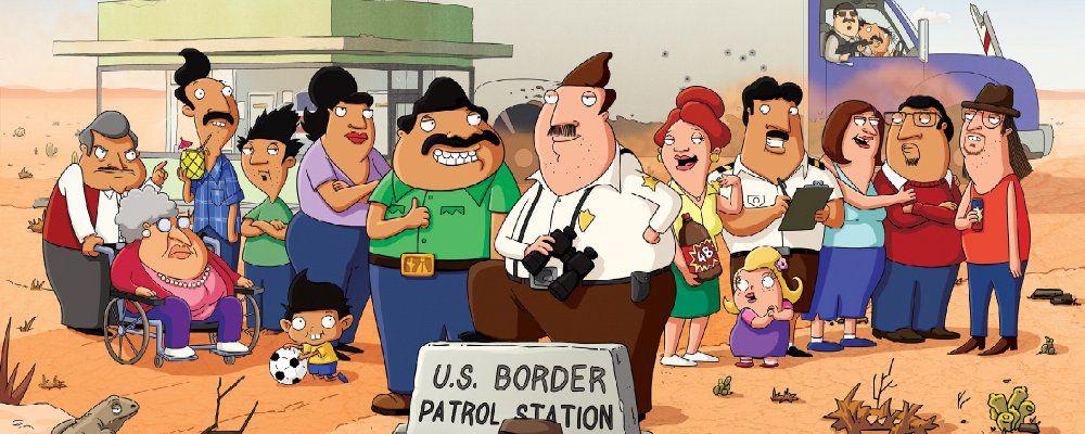 Bordertown, Seth MacFarlane ironizza sull'immigrazione con la nuova serie animata