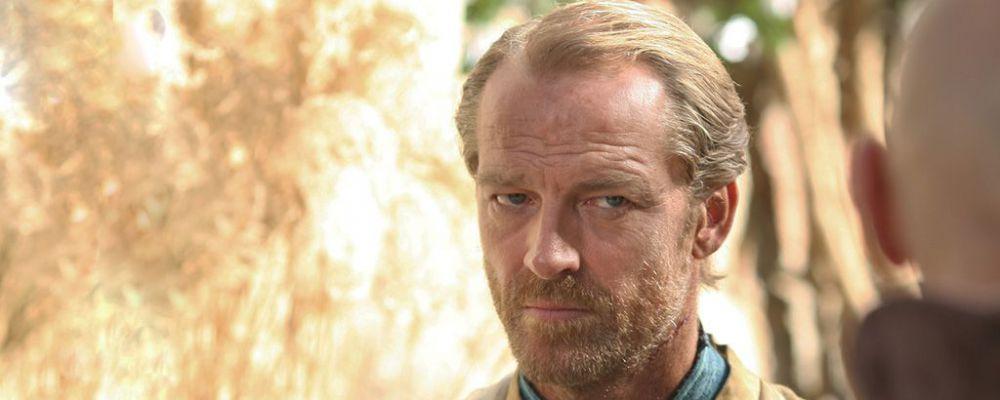 Game of Thrones, Iain Glen: 'Vorrei che Jorah morisse facendo l'amore con Daenerys'