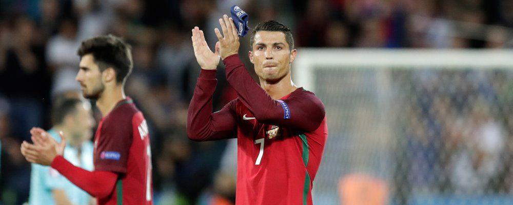 Ascolti tv, Euro 2016 Portogallo - Islanda vince con 6,5 milioni di telespettatori
