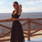 Claudia Galanti e Fabio Quagliarella: baci a Capri