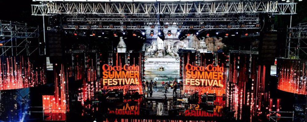 Coca Cola Summer Festival su Canale 5 conduce Alessia Marcuzzi, Angelo Baiguini e Rudy Zerbi