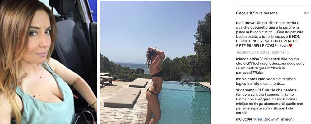 Emma Marrone e il bikini delle polemiche