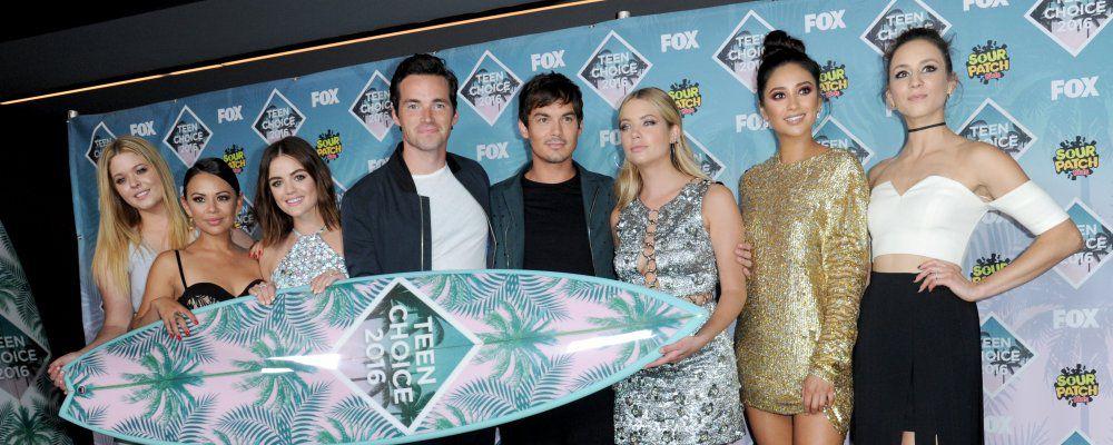 Teen Choice Awards 2016: tutti i vincitori. Pretty Little Liars e Teen Wolf le più amate