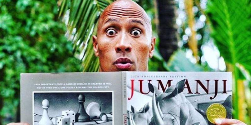 Jumanji, in arrivo il sequel con 'The Rock' e Jack Black