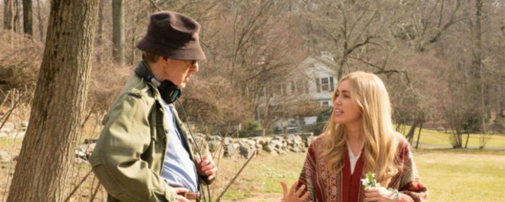 Le prime foto di Miley Cyrus nella serie di Woody Allen e l'annuncio di Stranger Things 2