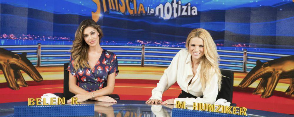 Striscia la Notizia riparte con una Belen Rodriguez in più: 'Io e Michelle, due extracomunitarie'